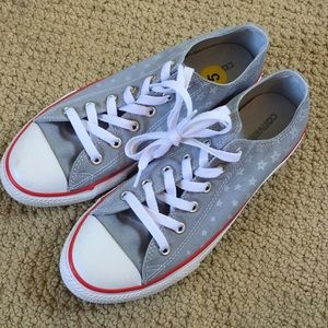 New Converse All-Star Jr. Star Print Converse Shoe